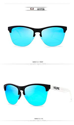 WWVAVA Sonnenbrillen Sports Sunglasses Men Polarized Ultralight TR90 Frame HD Drive Sun Glasses UV400 Goggles For Men Eyewear,c4