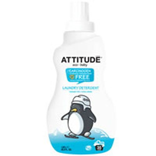 2 x Attitude Laundry Liquid x3 Baby No Frag 1050 ML
