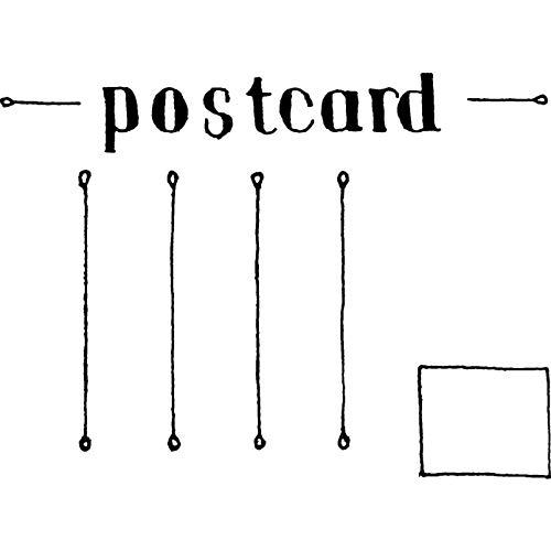 A7 'Leere Postkarte' Stempel (Unmontiert) (RS00003609) -