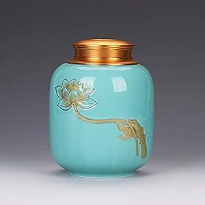 QYZLT Crémateur en céramique de Haute qualité pour Chiens/Chats, Accessoires funéraires Adultes Faits à la Main pour Adultes et Adultes,3