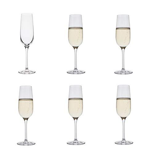 Dartington Crystal - boisson! Flûte collection 6 pack