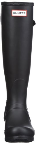 Hunters Original Tall Adjustable , Bottes de pluie mixte adulte Noir black