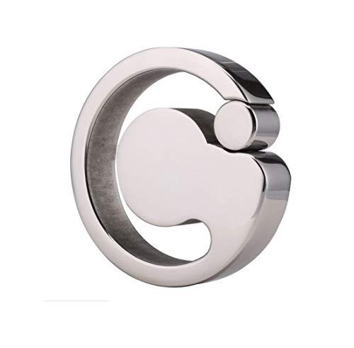 JJY Metall 304 Edel Stahlgewicht-Tragenden Ring Scrotum Binden Pendant Hoden Ei Längliche Verzögerung Lock Essenz Erwachsene Erotik -