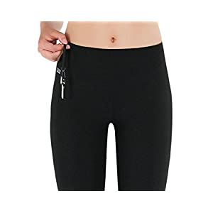9cd2206b2d9be Formbelt Womens Running Tights Long/Workout Pants/Sports Leggings with Integrated  Running Belt for Smartphone Keys | Fitness Yoga Cycling Outdoor Gym | High  ...