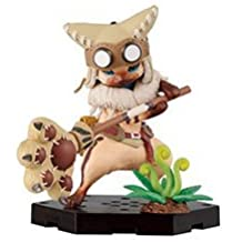 Most lottery Monster Hunter 10th Anniversary I Award Airou Figure Collection Airou & Hammer separately