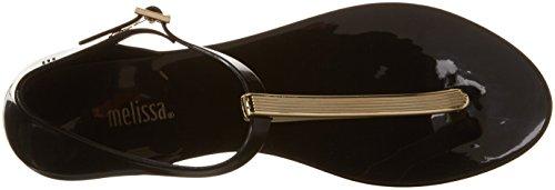 Melissa Ladies Honey Chrome Open Sandals Nero (nero)