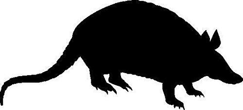 Pegatina Promotion Ratte Silhouette Tier Sport Decal Animal ca 20cm Aufkleber Autoaufkleber Wandtattoo Sticker