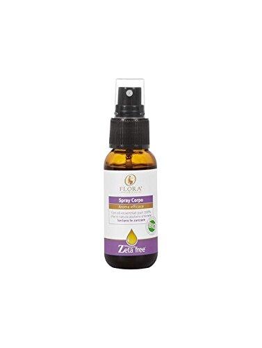 Spray antizanzare naturale - flora srl - 30 ml