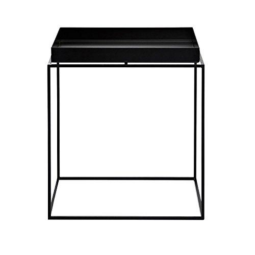 HAY Tray Table Beistelltisch, schwarz 40x40x44cm