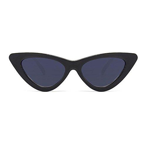 Aolvo retro cat eye occhiali da sole, vintage cat eye occhiali da sole premium leggero hd lenti uv 400personalizzata occhiali da sole, c10, taglia unica