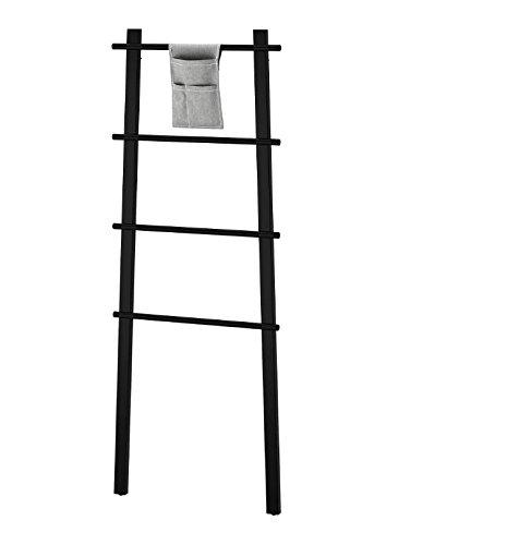 IKEA VILTO Handtuchständer Handtuchhalter Holz schwarz Birke Bad für Handtücher