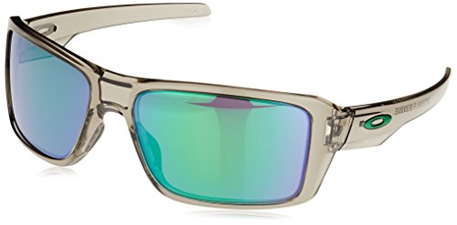Oakley Herren Double Edge 938003 66 Sonnenbrille, Grau (Grey Ink/Jadeiridium)
