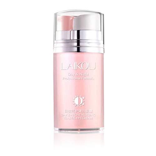 camellia Rosenöl Day & Night Pflege Elastic Augencreme Formel Desalination Falten-Creme Berufs-Großhandel (pink)