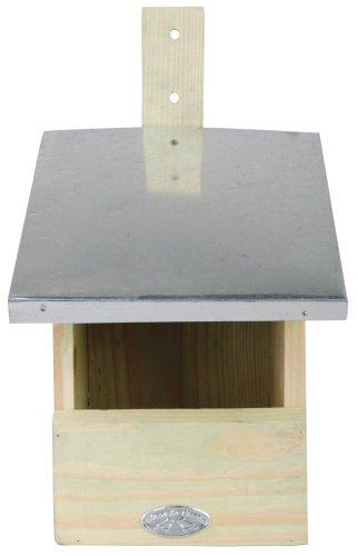 Esschert Design 2 Stück Nistkasten, Vogelhaus Rotschwänzchen, ca. 19 cm x 21 cm x 33 cm