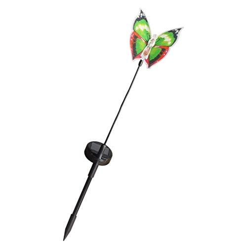 Vektenxi Premium-Qualität schöne Schmetterling Solar Power LED-Licht im Freien Garten Rasen Lampe Dekor Fairy LightMuti-Color Energiesparende Solar Fairy Lampe, für Outdoor/Garten/Terrasse/Wei