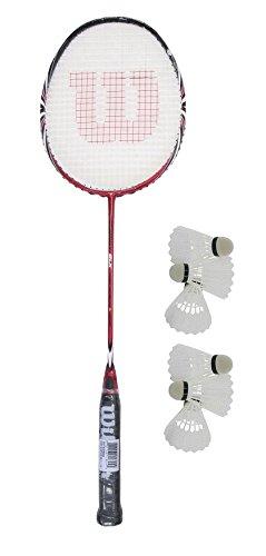 Wilson Energy BLX Badminton Schläger + 6 shuttles