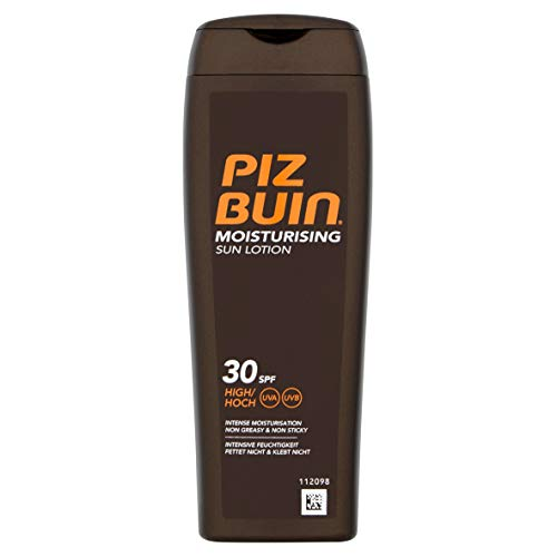 Piz buin in sun idratante crema solare con spf 30, alto - 200 ml