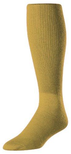 Twin City Erwachsene/Jugend Multisport Tube Socks, Herren, Grün (Vegas Gold)