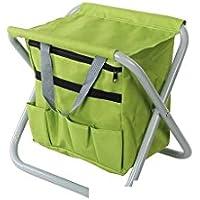 Silverline 498298 - Soporte plegable para herramientas de jardín (360 x 280 x 340 mm)