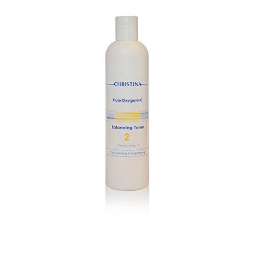 Christina Fluoroxygen + C Balancing AHA Toner / Skin Lightening 300 ml