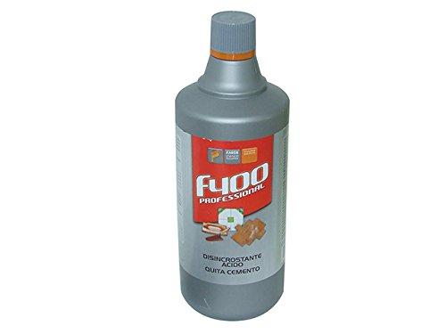 Acido Disincrostante Per Cemento Prodotto Adatto All'Eliminazione Di Incrostazioni Di Cemento E Calcare. Diluibile In (Acqua In Cemento)