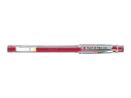Pilot Penna g–Tec C40.4mm Microtip rollerball gel Pen–azzurro Red