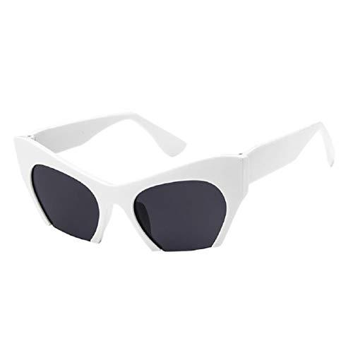 Vaycally Mode polarisierten Sport Sonnenbrillen große übergroße Fett Rahmen UV 400 klare Linse Horn umrandeten Brille für Frauen und Männer