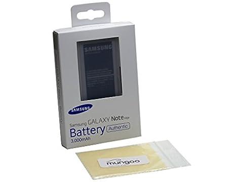 Akku Original Samsung EB-BN915BBE BLISTER für Samsung N915F Galaxy Note Edge + Gratis mungoo® Displayputztuch