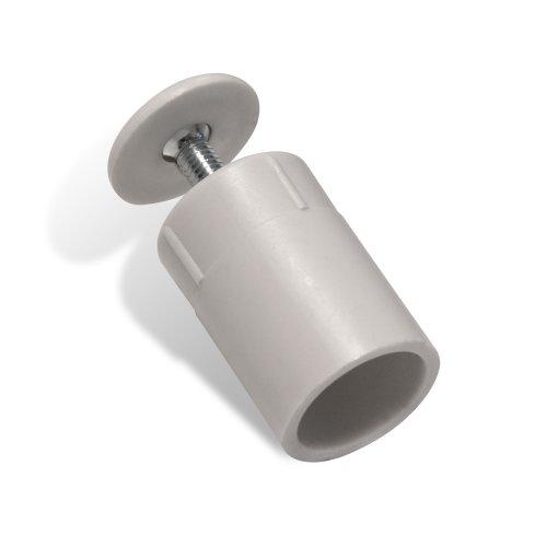 JAROLIFT Anschlagstopper für Rollladenendleiste / Länge: 30 mm / Farbe: weiß
