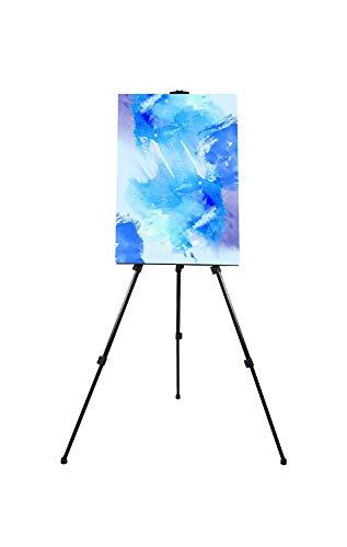 eld Staffelei für Malerei, Büro, Display-Höhe verstellbar zusammenklappbar Stativ bis 160cm hoch. ()