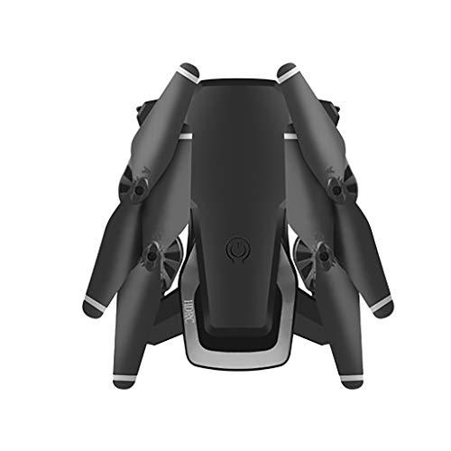 HKFV HDRC D8 Drone avec caméra HD 2.0MP FPV WiFi 1080P Caméra Grand Angle Helicoptère Pochette Selfie Drone Pliable,Version Double Batterie, Altitude Hold Drone Pliant (Black)