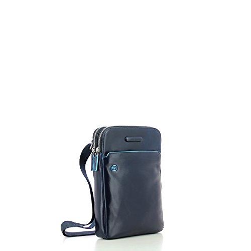 Borsello porta iPad®Air/Pro 9,7 con porta penne Blue Square dunkelblau, blau