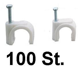 Nagelschellen Nagelschelle 10-14mm mit Nagel 100 St von MKV auf Lampenhans.de