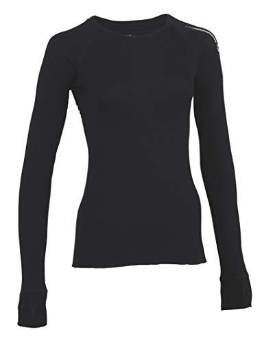 MERINO POWER Merinopower Damen Langarmshirt Rundhals - Unterwäsche aus ultrafeiner Merinowolle