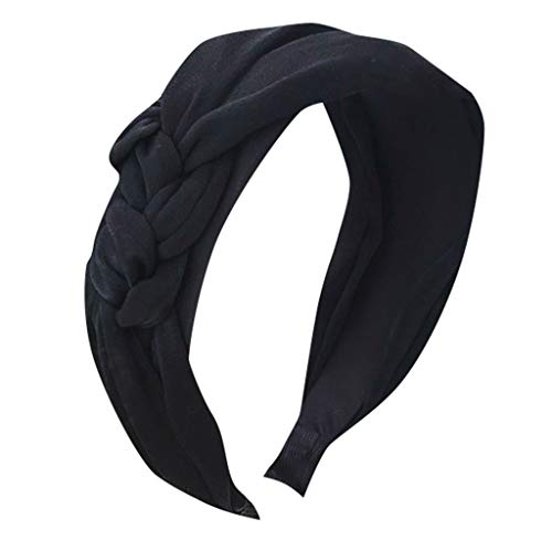HAUXIN❤ Haar-Riegel-Torsion-Bogen-Stirnband-Schal-Verpackungs-Haar-Zusatz Hairband Damen Stirnband Tuch Haarband Damen Stirnband 20er Jahre Flapper Haarband Frauen Mädchen Kostüm Lieferungen