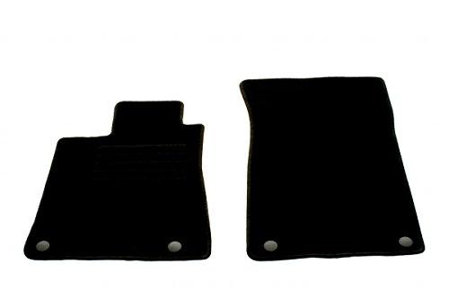 Preisvergleich Produktbild Auto Fußmatten Velours Set 2-teilig passgenau, schwarz