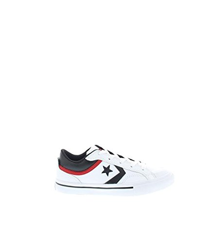Converse Youths Pro Blaze Ox Leather Trainers wei�