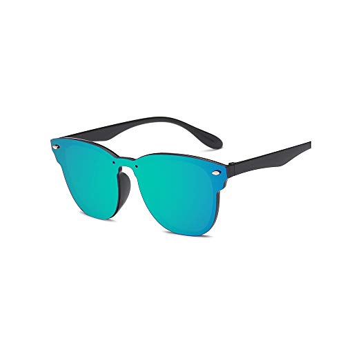 Vintage Non-polarized Sunglasses UV Protection HD Mirrored Lenses for Women with Case Designer Style