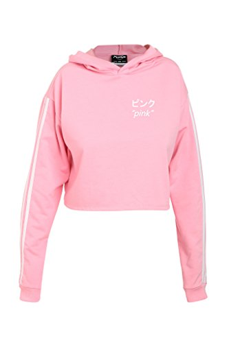 MINGA LONDON - Sweat-shirt - Manches Longues - Femme Rose