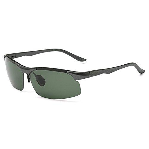 O-C Men's 2017 new classic stylish driving and aviator anti-reflective sunglasses TAC UV 400 polarized 75mm