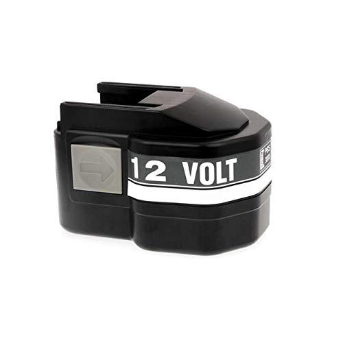 Powery Batterie pour AEG perceuse visseuse BS2E 12T NiMH, 12V, NiMH [ Batterie Outil électroportatif ]