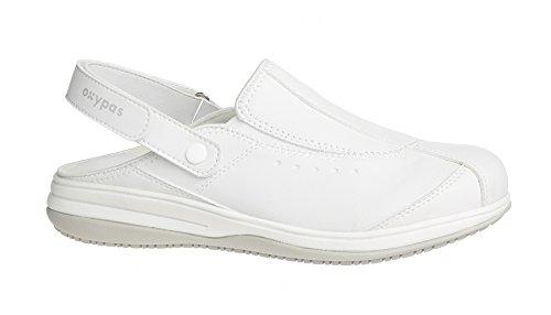 Oxypas Scarpe di sicurezza da donna, Bianco (wht), 38 EU