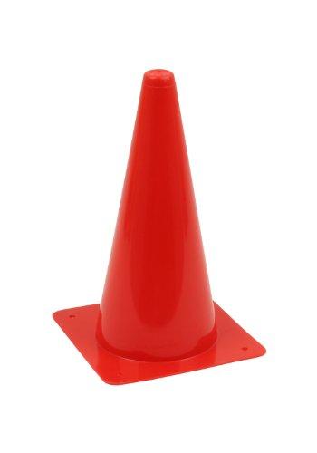 1 Stück Hütchen, Kegel, Pylon 30cm Höhe, rot