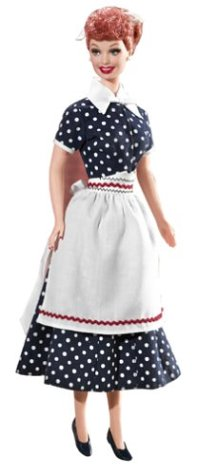 Barbie Collector # B3451 - I love Lucy (Lucy Puppen Barbie)