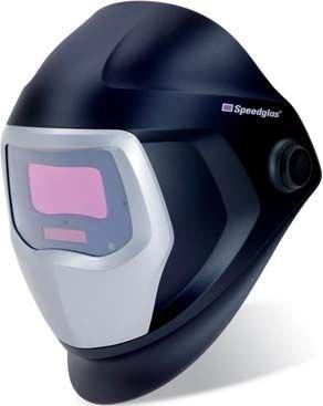 SPEEDGLAS 501815 Automatikschweißmaske Konzipiert für aller höchsten und Der zuverlässige Schutz von Augen und Gesicht vor Strahlen, Schwarz, 54 x 107 mm