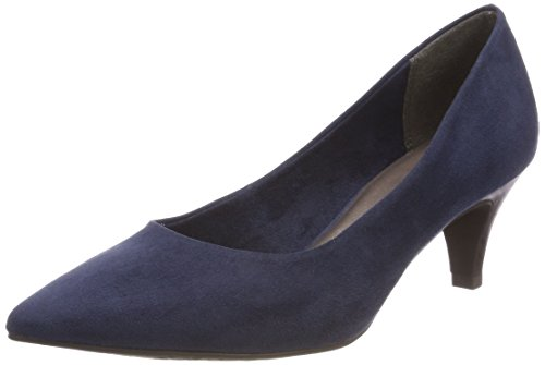 Tamaris Damen 22415 Pumps, Blau (Navy), 38 EU