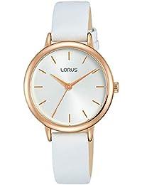 Lorus Reloj Analógico para Mujer de Cuarzo con Correa en Cuero RG246NX8 80d1a8769ab4