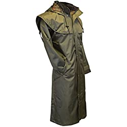 Walker and Hawkes - Chaqueta Impermeable - Capa - para Hombre Verde Verde Oliva X-Large