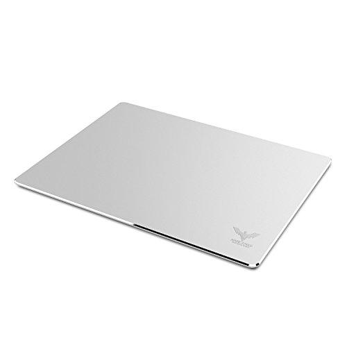 HAVIT Aluminium Gaming Mauspad mit Anti-Skid Gummiunterseite, 9.45