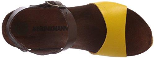 Dr. Brinkmann - 710675, Sabot Donna Giallo (Gelb (Gelb/Chocolate))